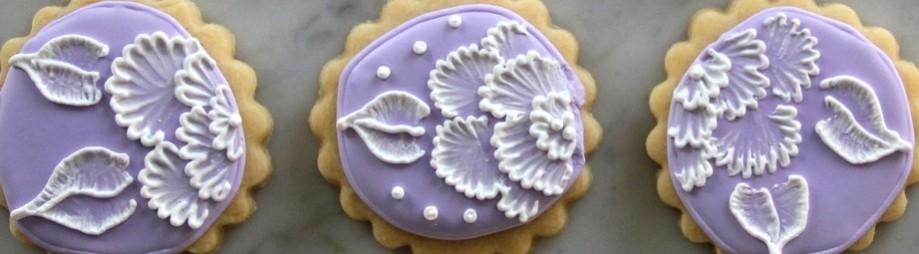 Embroidered Flower SugarCookies