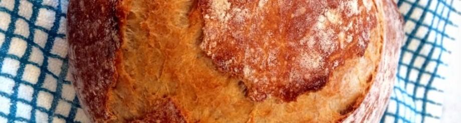 SIMPLE Crusty Bread [aka sleepybread]