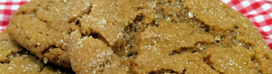 Fall'ing Over Ginger-MolassesCookies