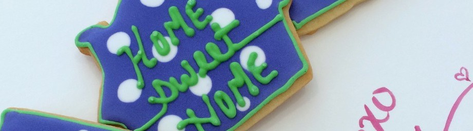 "Brookie's Cookies – ""Happy New House"" to you…."